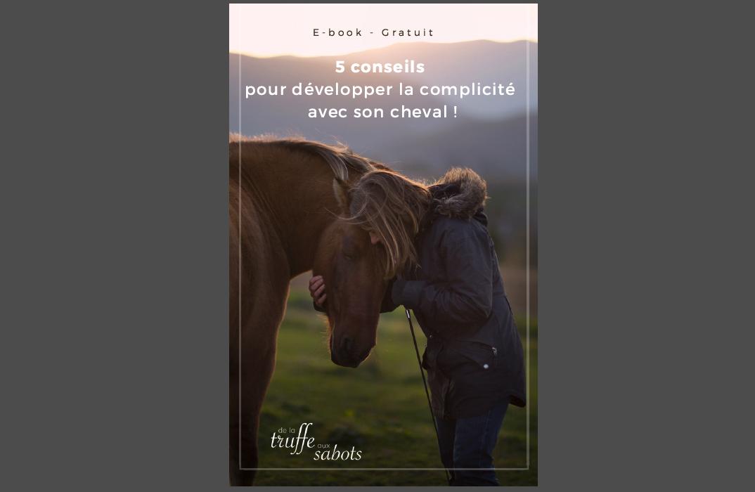 de la truffe aux sabots e-book complicité cheval