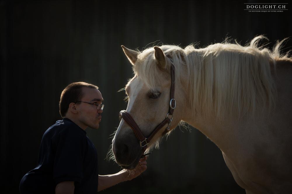 Relation homme cheval handicap